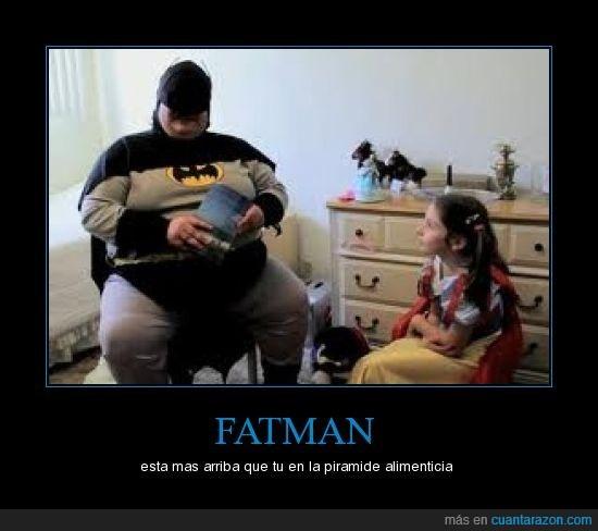 fatman,gordo,pirámide alimenticia
