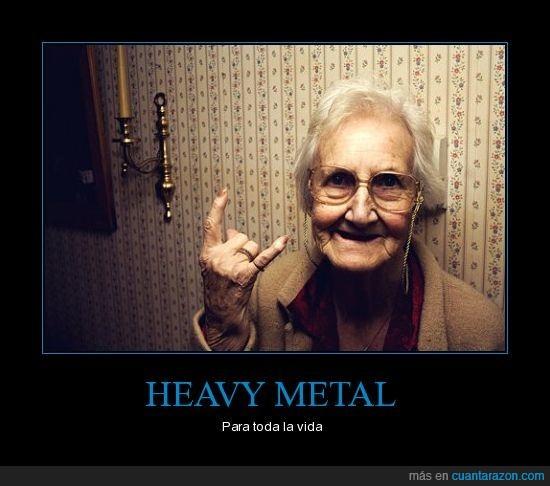 heavy metal anciana metalera