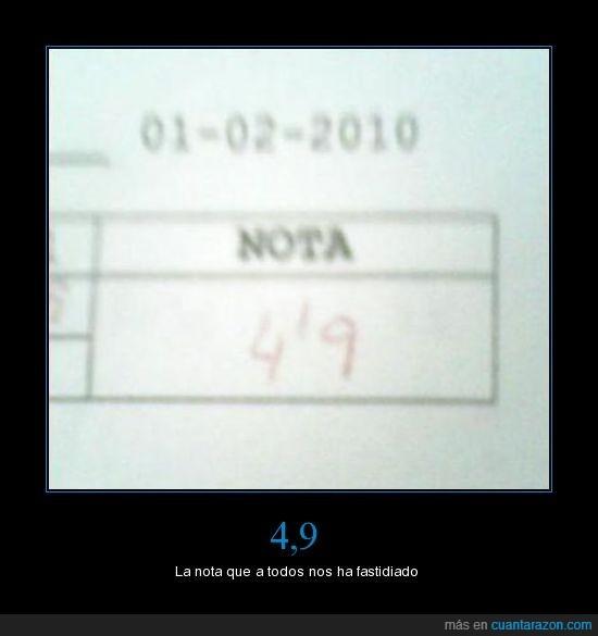 casi,examen,nota