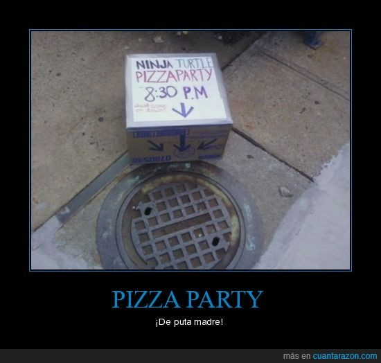 pizza,tortugas ninja