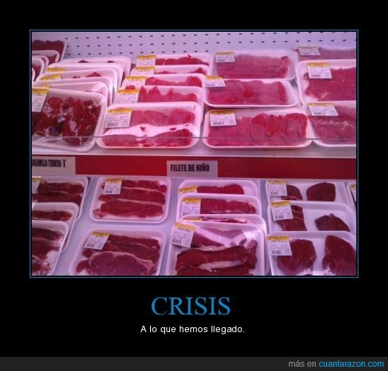 carne,crisis,niños