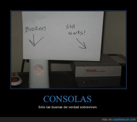 consola,nes,roto,xbox 360