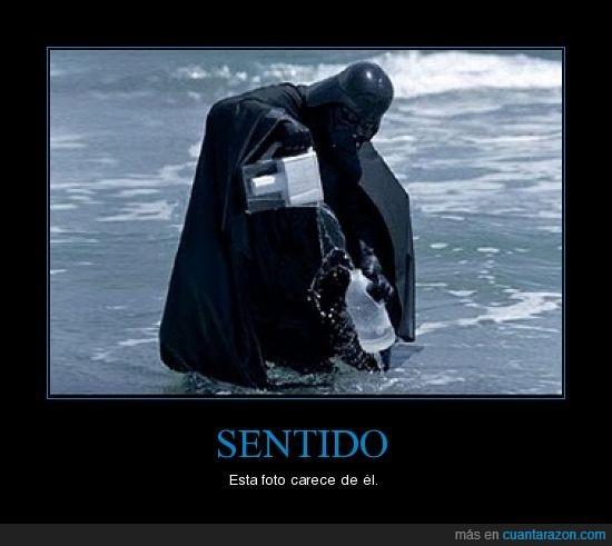 Agua,Darth Vader,Foto,Sentido