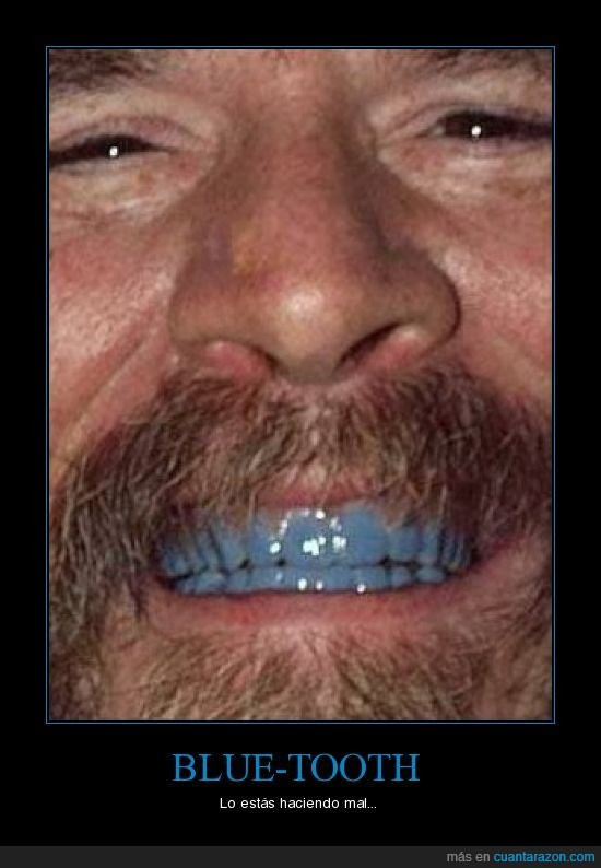 azul,bluetooth,dientes,error