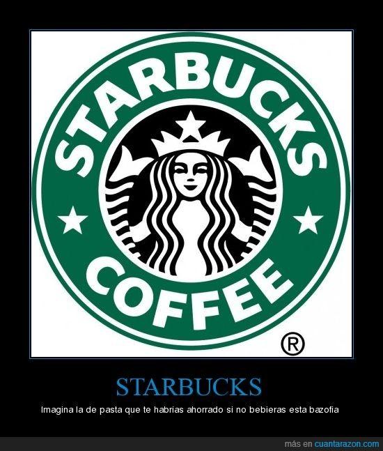 ahorro,café,starbucks