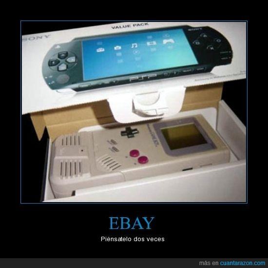 ebay,falso,gameboy,psp,timo