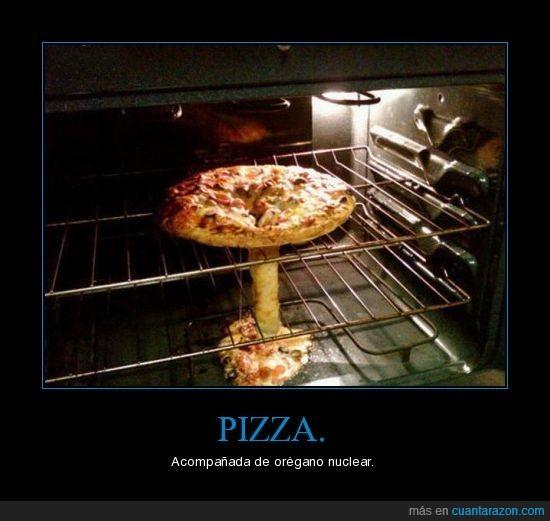nuclear,orégano,pizza