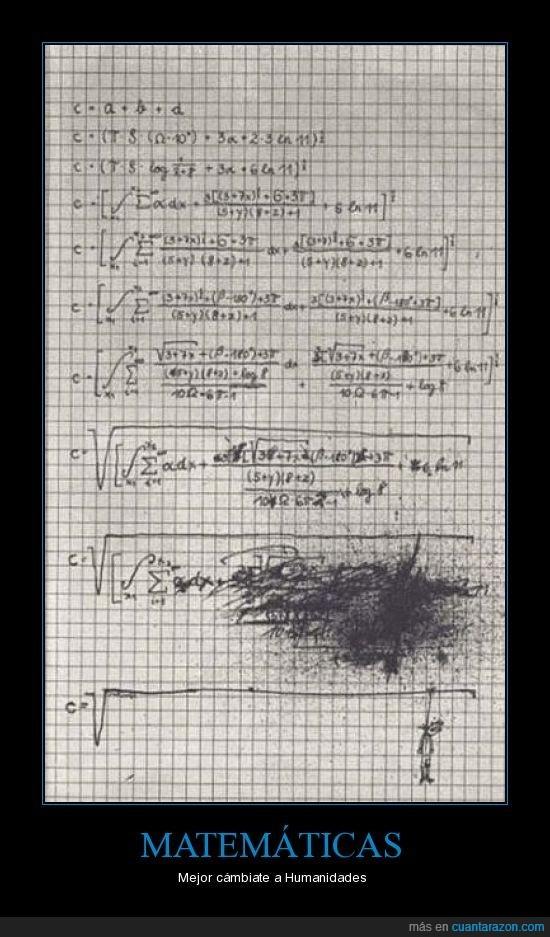 Humanidades,Matemáticas