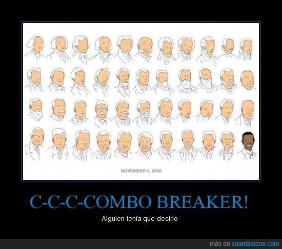 Combo Breaker,Killer Instinct,Obama,Presidentes