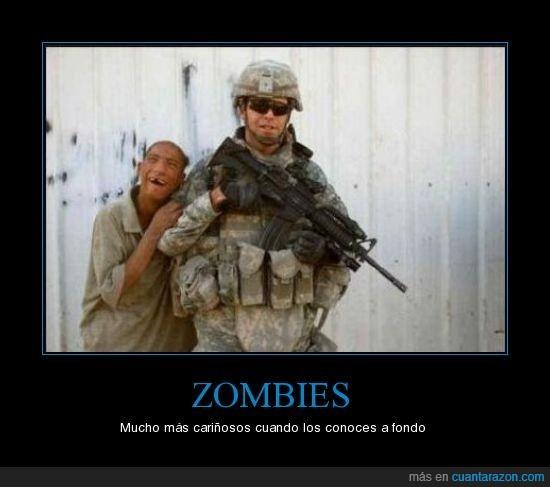 cariñosos,sonrisa,zombies