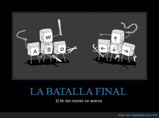 batalla final,fin del mundo,lucha,wasd