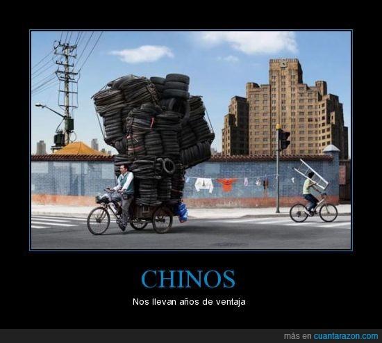 bicicleta,chinos,ventaja