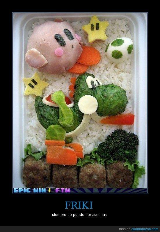 comida,friki,kirbi,yoshi