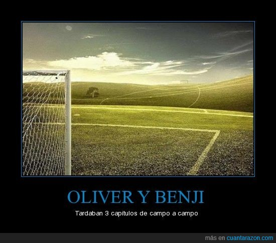 benji,campeones,fútbol,oliver