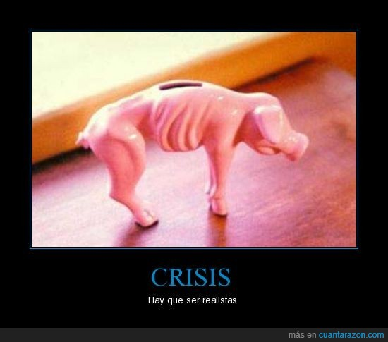 cerdito,crisis