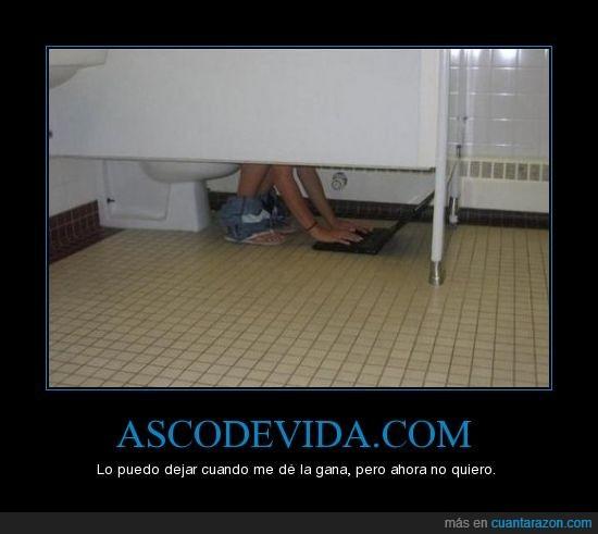 adicto,ascodevida,droga,lavabo,mono