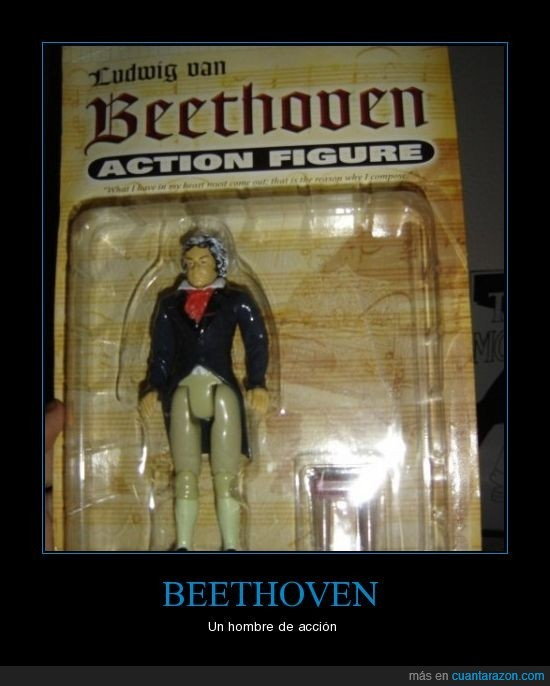 accion,Beethoven,de,figura,figurita,hombre,un