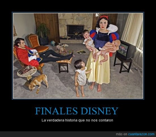 blancanieves,cuento,disney,final