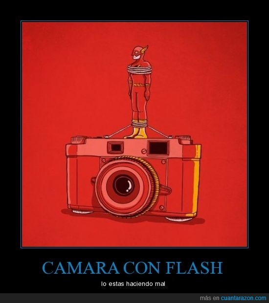 cámara,flash