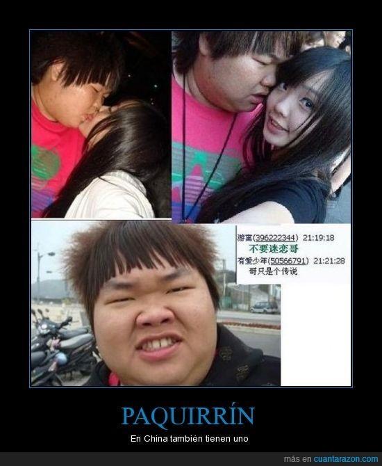 chino,feo,mal peinado,paquirrín