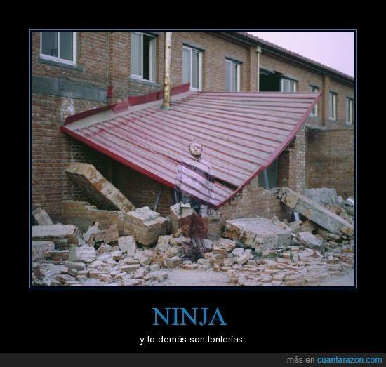 camuflaje,ninja,tejado