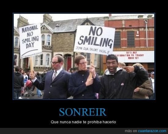 libertad,sonreir,sonrisa