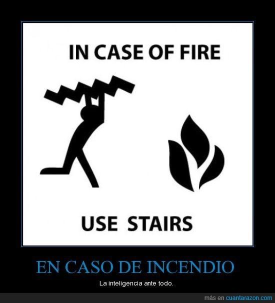 escaleras,fuego,ingeniero