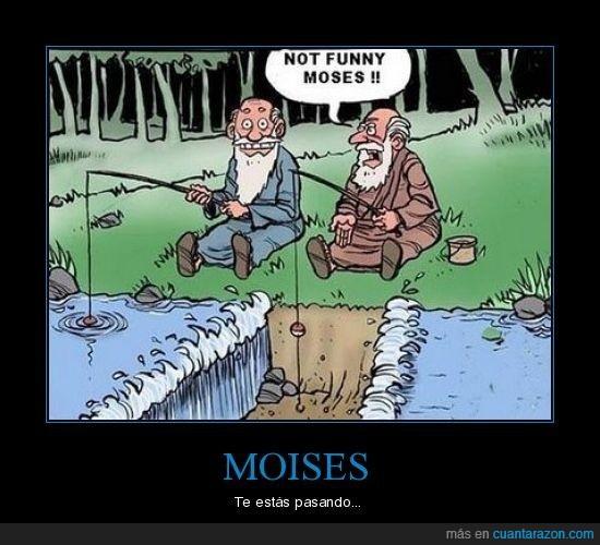 agua,broma,milagro,moises,pescar