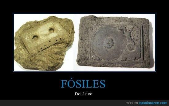 cinta,disco,fosiles,futuro