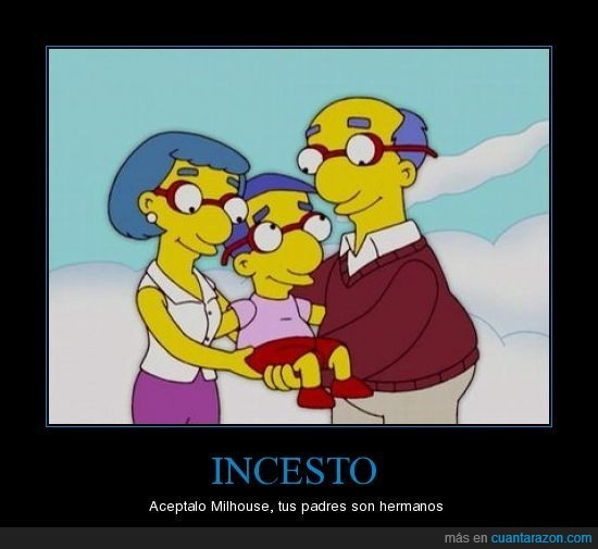 incesto,milhouse