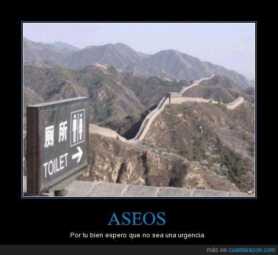aseos,china,muralla,urgencia