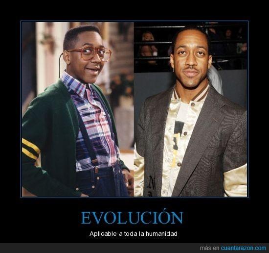 evolucion,steve urkel