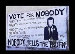 Enlace a VOTE POR NADIE
