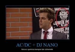 Enlace a AC/DC + DJ NANO