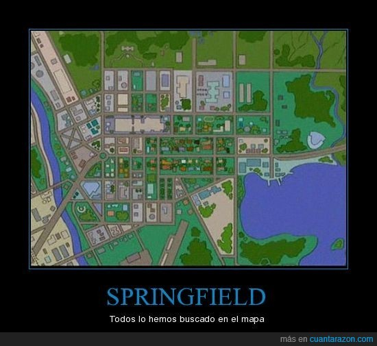 mapa,simpson,springfield