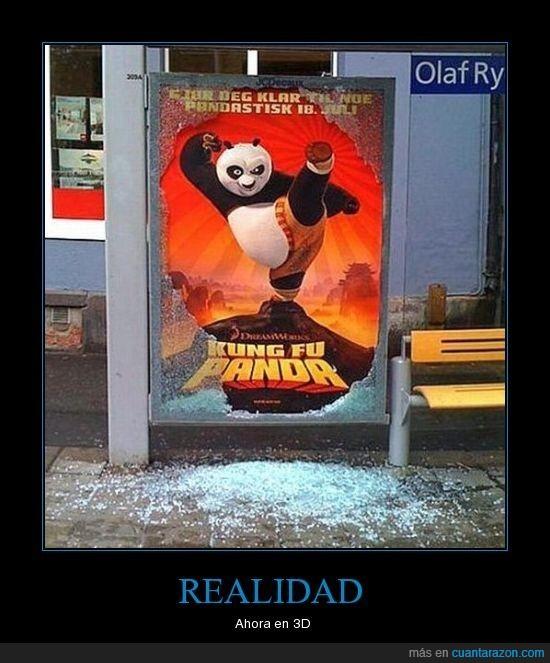kungfu panda,realidad
