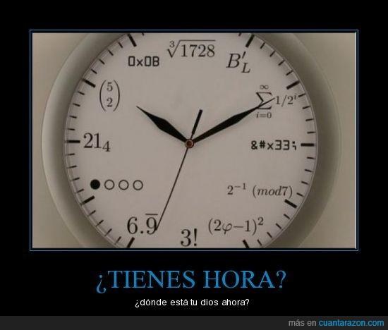 friki,hora,reloj