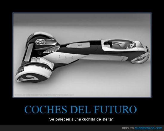 afeitar,coche,egochine,futuro,peugeot,tuning