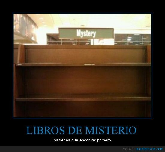 Libros,misterio
