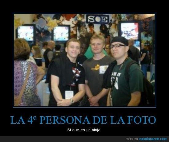 cuarta persona,detrás,escondida,foto