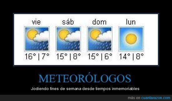 fin de semana,finde,meteorologo