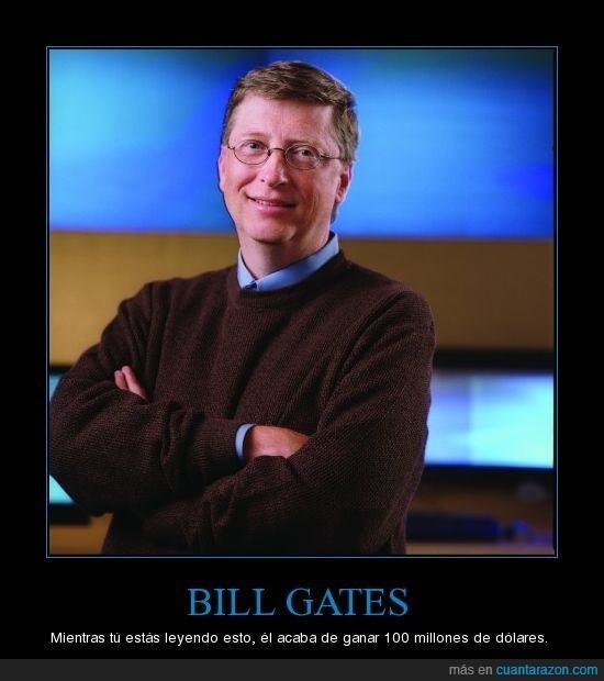 bill gates,dolar,leer,millonario