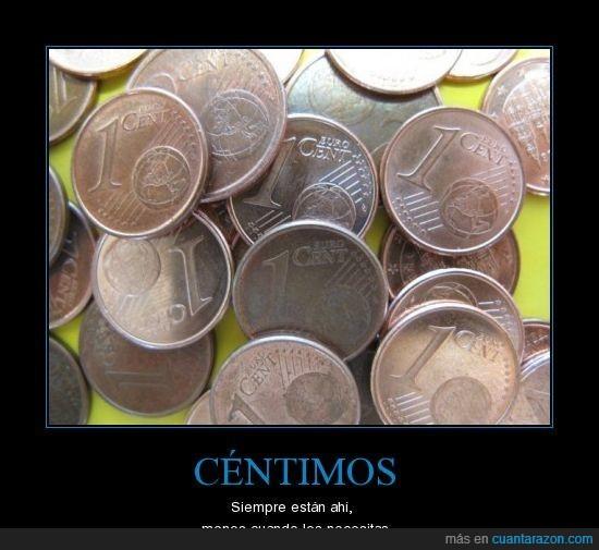 céntimos,euro,necesitar
