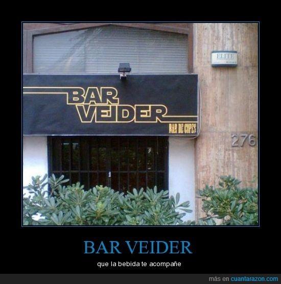 bar,bebida,copas,star wars,veider