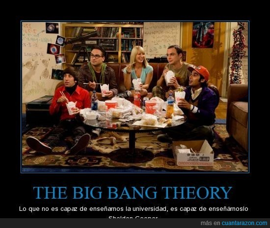 Sheldon Cooper,TBBT,The Big Bang Theory