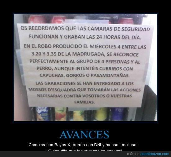 atraco,Cartel,denuncia,mossos