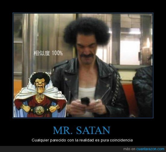 coincidencia,doble,mr satan