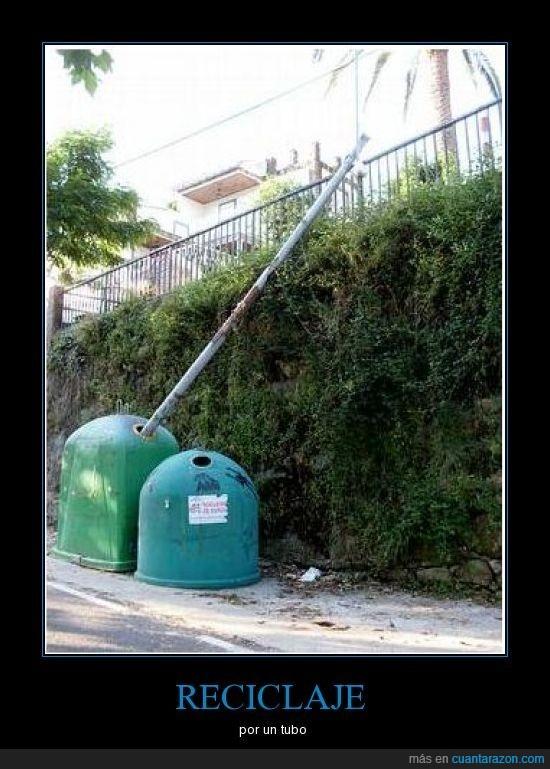 galicia,reciclar,tubo