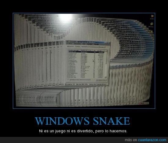 snake,windows