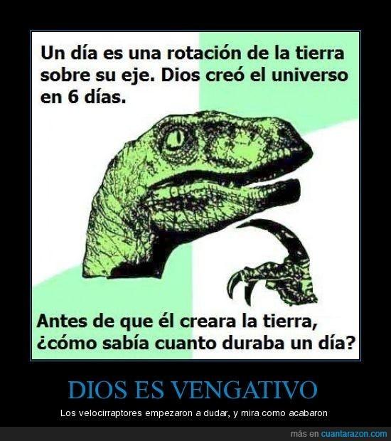 velociraptor,venganza
